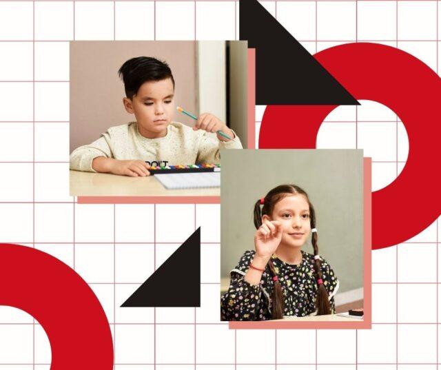 Copii la centrul Nomin Jyuku